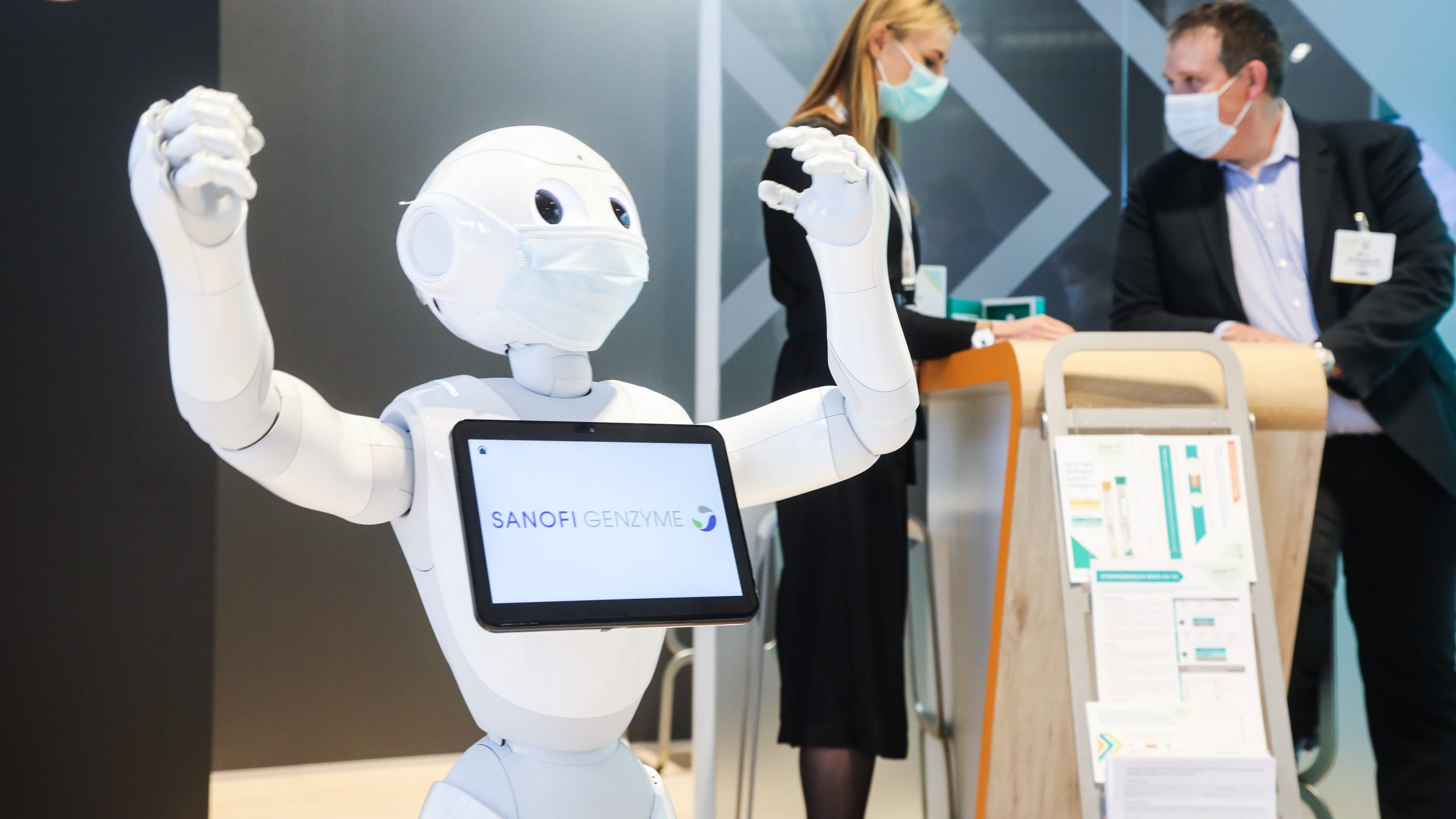 Sponsoring Kongresse besondere Ausstellungsstücke Roboter
